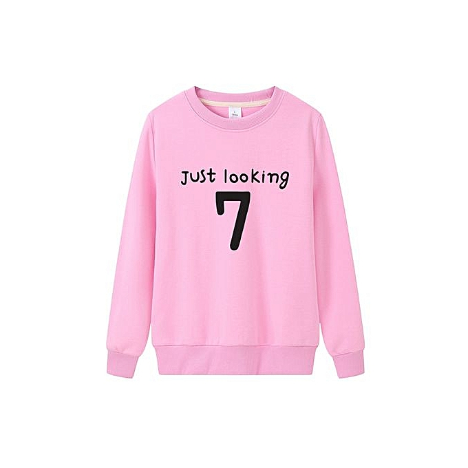 3ccfa43d Spring Autumn Men Women Sweatshirts Long Sleeve Fashion Students Casual Tops  Loose Large Size Outdoor Sport