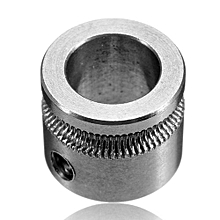 MK7 Extruder Drive Gear Bore 8mm For 1.75mm Hobbed Gear For Makerbot Reprap Mendel High Quality Stainless Steel