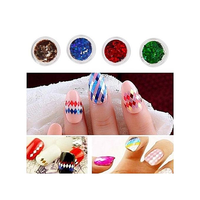 Buy Vakind 12 Pcs Mix Color Glitter Set For Nail Art Acrylic Tips ...