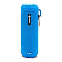 NR - 4016 Outdoor Wireless Bluetooth Stereo Speaker Portable Player-BLUE