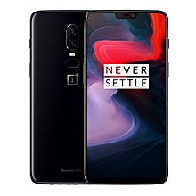 "【Flash Deal】OnePlus 6 6.28"" 19:9 AMOLED Android 8.1 6GB RAM 64G ROM Core 4G Smartphone Black"