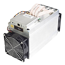 OR Antminer L3+ 504MH/s Miner 800W On Wall Scrypt Overheat Protection-white