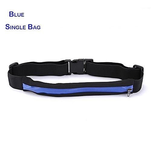a4c110c75296 Unisex Waterproof Running Waist Belt for phone Jogging Running Waist Bag  Anti-theft Pouch Bag Waist Pocket(Red Color)