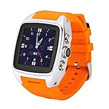 Android Smart Watch X01 IPS Bluetooth Smart Watch WithGPS+3G+WiFi+GPRS Bluetooth Watch For Android Phone (Color:Orange)