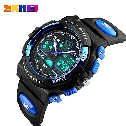 Fashion Living Waterproof Kids Watches Children Boy Students Digital Led Alarm Date Casual Sports Wrist Watch Free Shipping Special Summer Sale Children's Watches