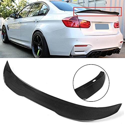Generic Carbon Fiber Trunk Spoiler Boot Lip Psm Style For Bmw
