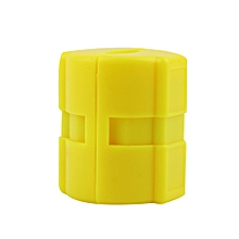 Universal Magnetic Gas Fuel Power Saver for Car Vehicle Reduce Emission - Yellow