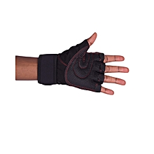 Black Gym Body Building Training Fitness Gloves Sports Weight Lifting Gloves Exercise Cycling For Men And Women Fitness Sports Half Finger Gloves GYM Weight Lifting Wraps Body Building Workout Exercis
