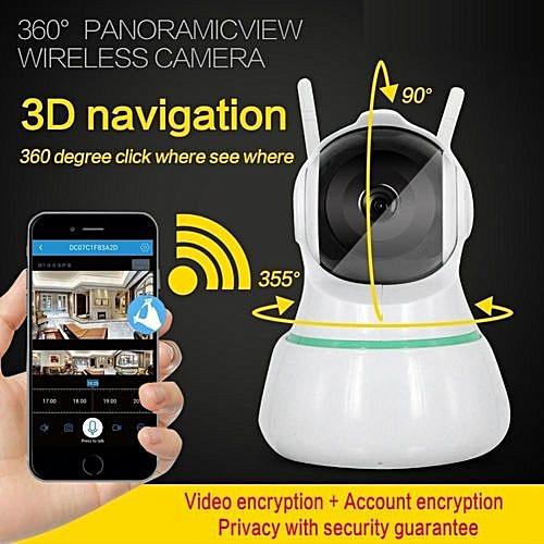 1080P Wifi Pet Baby Monitor Two-Way Audio IR Night Vision Security Camera