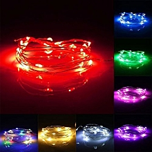 2M 20LED Copper String Fairy Light Battery Powered Xmas Light Party Wedding Lamp Blue
