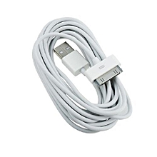 Iphone 4 USB Cable -White