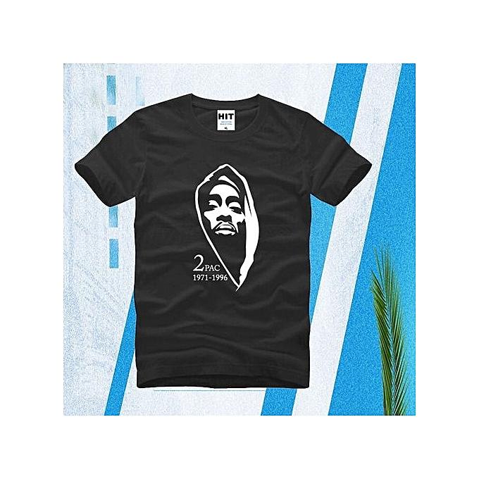 bc4d53e5 Thug Life Tupac 2PAC Hip Hop Rock Rap Mens Short Sleeve Cotton T-shirt  Casual