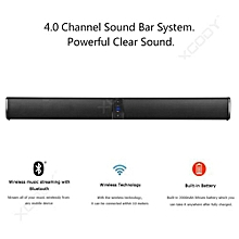 Bluetooth Detachable Stereo Dual Speaker with Strong Bass Wireless TV Soundbar