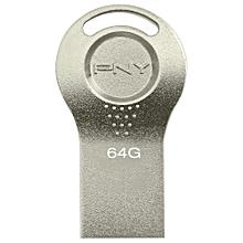 Attach 64GB USB 2.0 Flash Drive - Silver