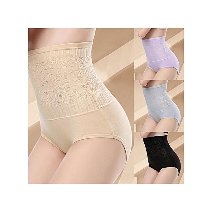 42db4ff25774d Women's Tummy Control Lace High Waist Body Shaping Panties Shape wear  Underwear