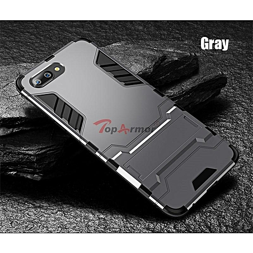 new styles 1548f 805a5 For OPPO A3S Case Silicone Iron Man Armor Cover For OPPO A3S Full  Protection Housing Casing 212679 c-2 (Color:Main Picture)