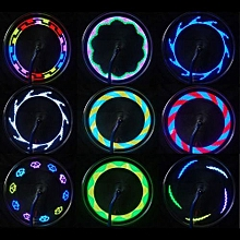 14 LED Motorcycle Cycling Bicycle Bike Wheel Signal Tire Spoke Light 30 Changes Outdoor