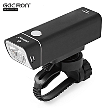 V9F - 600 Rechargeable Bike Cycling Light Bicycle Front Flashlight - Black