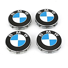 4 Pcs Car Emblem Badge Sticker Hub Cover Caps Auto Styling Accessories for BMW 68mm