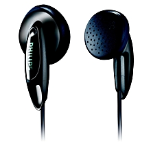 SHE1350/00- Earbud Headphone - Black