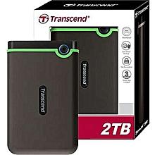 2TB - USB External Hard Drive+ Free Longtron USB Cable.