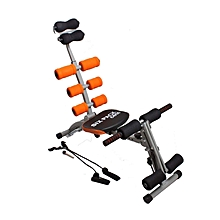 Six Pack Care Machine with Paddle - Black & Orange
