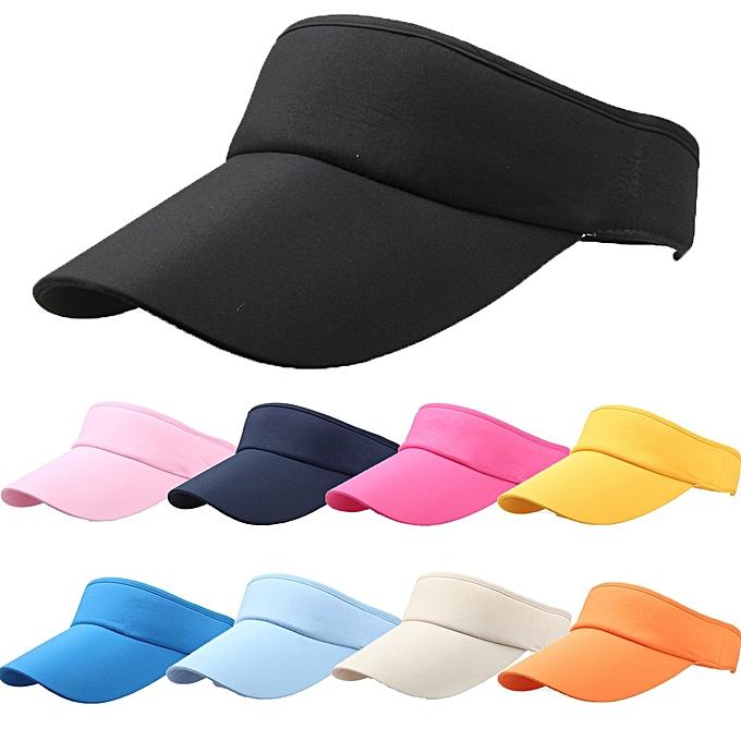 63f3564cf10c0 ... Hot Selling New Tennis Caps Stylish Women Men Uni Beach Sports Sun Visor  Hat Golf Caps