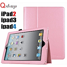 iPad 2/3/4 Case,Slim Fit Folio PU Leather Case with Smart Cover Auto Sleep / Wake Feature for Apple iPad 2/iPad 3/iPad 4th Generation with Auto Sleep/Wake Function Mll-S