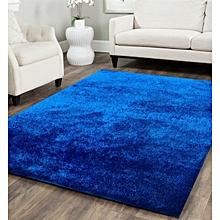 Fluffy Carpet - 7x10 - Blue