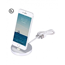 P5 - 8 Pin Charging Sync Dock For IPhone - Silver