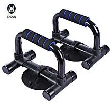 XINDUN Paired Sponge Pad Push-up Bar Frame with Sucker Blue And Black