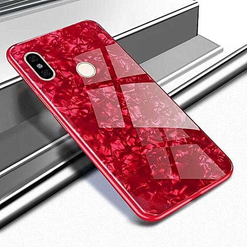 half off eb5a6 1e40d Clear For Xiaomi Redmi Note 5,Slim Fit Lightweight Shockproof Armor Shield,  Flexible TPU Bumper Edge + Transparent Glass Back Cover For Xiaomi Redmi ...
