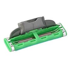 1pc New Shaving Blade For Men Face Shaving Razor Standard 3-layer Blade Green