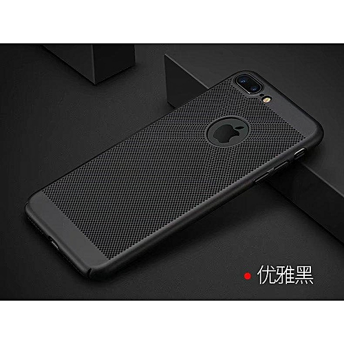 new style b6b23 1cad8 For Apple iPhone 8 plus case Breathable Ultra-thin PC Hard shell phone case  For Apple iPhone 8 plus