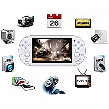 Video Game Console 8GB  4.3 Inch MP5 Players(White)