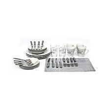 Dinner Set  - 40 Piece - White