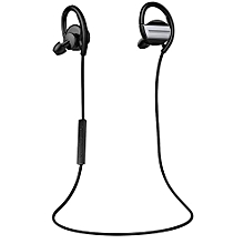 H3 In-Ear Wireless Sports Bluetooth Stereo Headphones Earphone With Micphone Hands-Free Anti-sweat Music Stereo Earbud (Black)