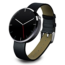 DM360 Heart Rate Monitor Tracker Bluetooth Smartwatch For IOS BK