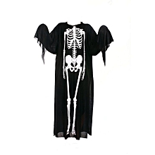 Skeleton ghost costume masquerade halloween