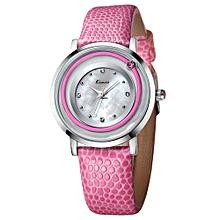 Quartz watch fashion bracelet watch fashion female form 546m  (Silver&Pink)