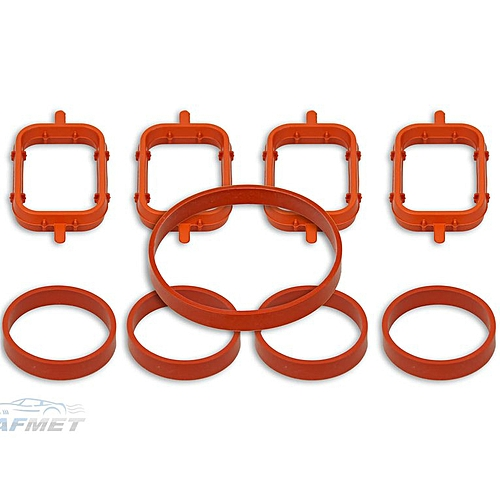 Intake Inlet Manifold Gaskets for BMW Rover M47 E87, E46, E90, E91, E92,  E93 Orange