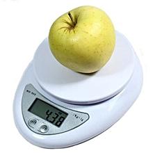 Kitchen Scale Automatic Tare Range 0.001~2.5KG -White