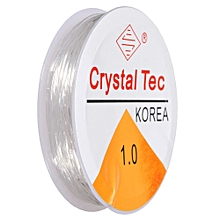 1mm Crystal Tec Stretch Silicon Elastic String Bead Craft Cord