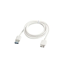 KS U330 1.5 M USB 3.0 Charging Data Cable For Samsung Galaxy Note 3N9000 (White)