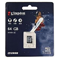 64GB Micro SD Card 80MB/S SDHC Class 10 TF Memory Card