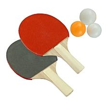 Table Tennis Set 2 Racket 3 Ball