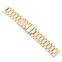 Replacement Stainless Steel Bracelet Strap For Samsung Gear S3 Frontier/Classic Rose Gold