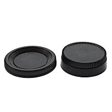 OR 58*22mm Body Cap + Rear Lens Cover Plastic for All Nikon DSLR Camera