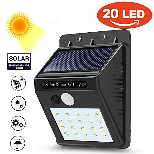 Wall Light Jumia: Buy JETBeam 20 LED Solar Power PIR Motion Sensor Wall