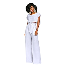 Womens Tracksuit Sets Off Shoulder 2 Piece Short Sleeve Jogger Plus Size Summer Sweatpants-white